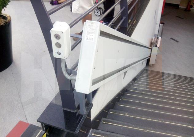 Plataforma Salvaescaleras Modelos SH200i y SH300i