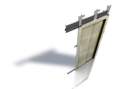 Puerta de piso Fineline